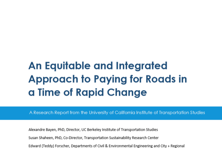 Shared Mobility | Transportation Sustainability Research Center