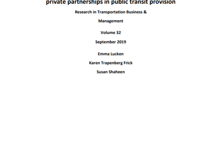 Screenshot of the title of the report and the authors