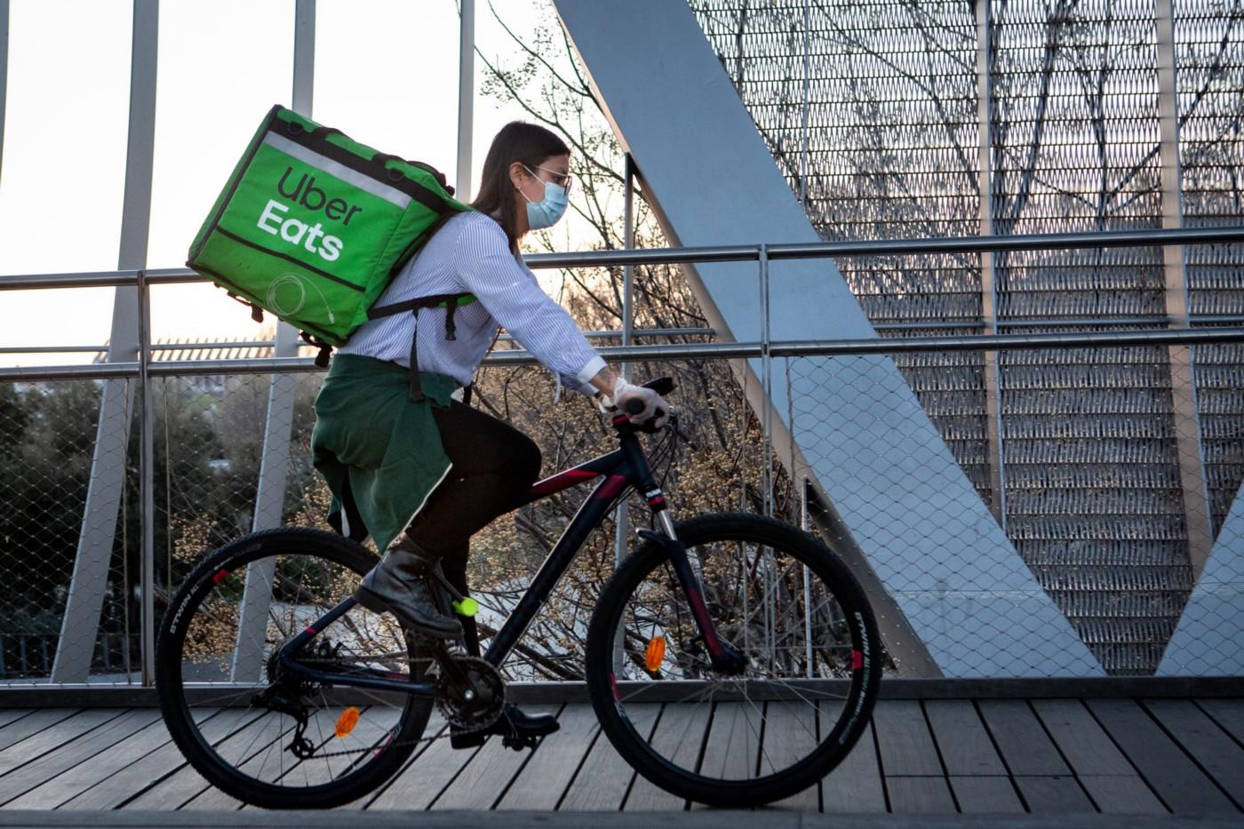 Uber Eats Delivery Person