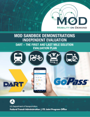 Mobility on Demand (MOD) Sandbox Demonstrations Independent
